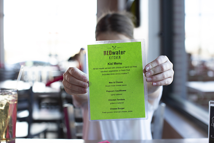 Redwater Children's Menu