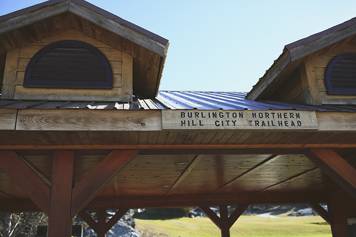 Mickelson Trail   Burlington Northern Trail Head   Hill City