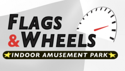 Flags & Wheels Indoor Racing