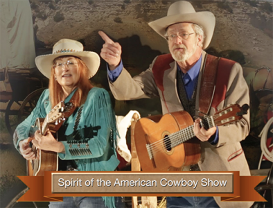 SPIRIT OF THE AMERICAN COWBOY CHUCKWAGON SUPPER, MUSIC AND COMEDY!